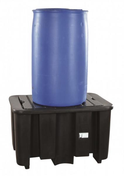 Auffangwanne PE, für 1 x 200 Liter Fass