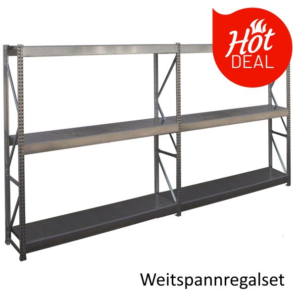 Hot Deal: Weitspann Regal Set von Widmer