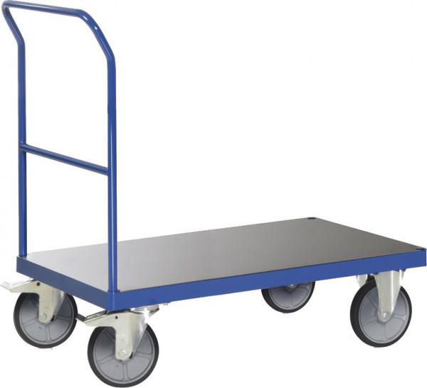 Plattformwagen mit Schiebegriff