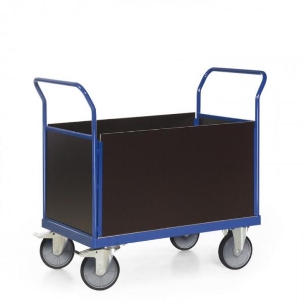 Plattformwagen mit 4 Seitenwänden