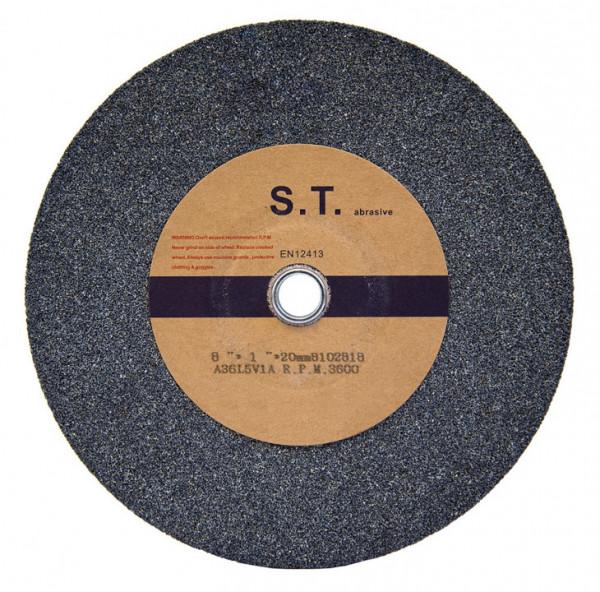 Schleifscheibe 200 x 25 x D20 mm, K60