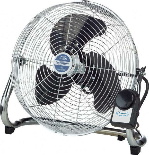 Windmaschine V 14 verchromt, 35 cm