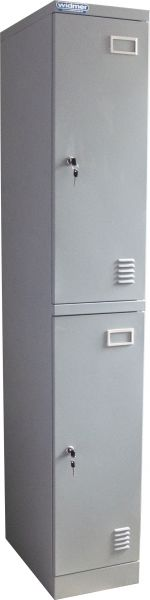 Garderobenschrank 2-teilig 1800x300x500 mm