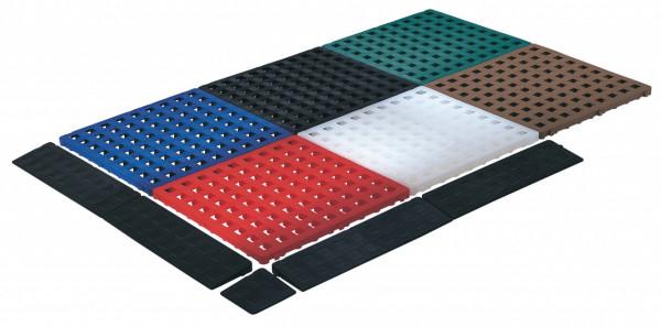 Bodenroste aus Kunststoff, versch. Farben